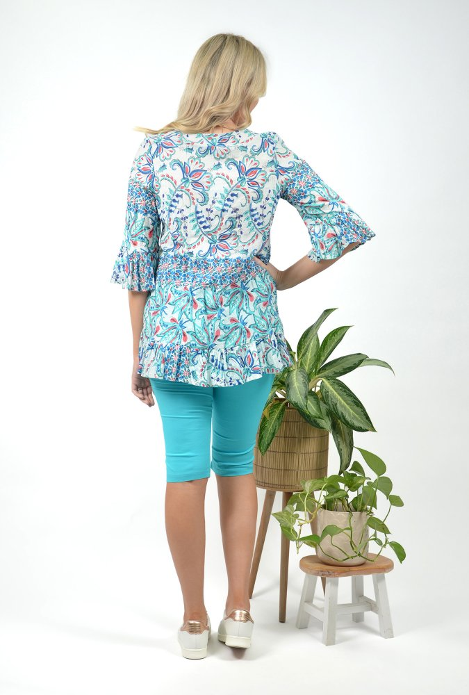 Solah Tunic in Pure Water