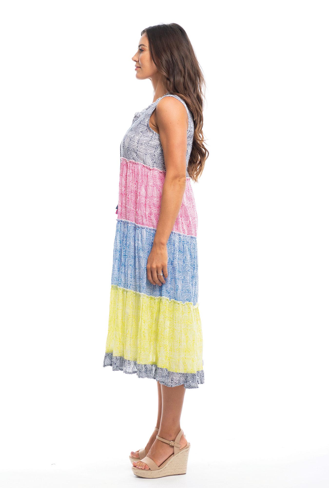 Farrah Dress in Mix