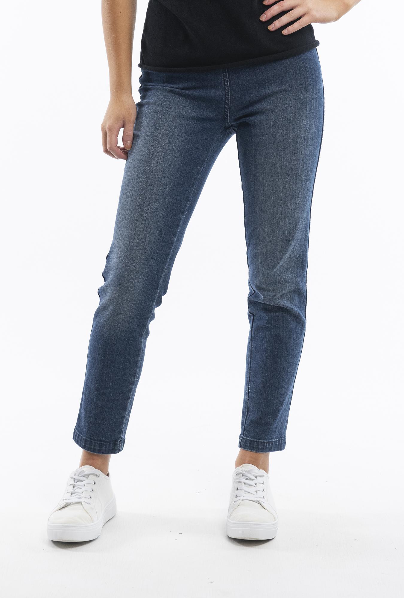 Washed Denim Jeans