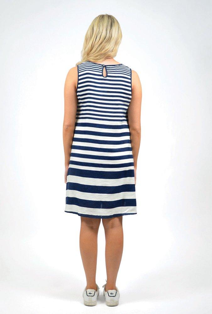 Sophia Dress in Navy