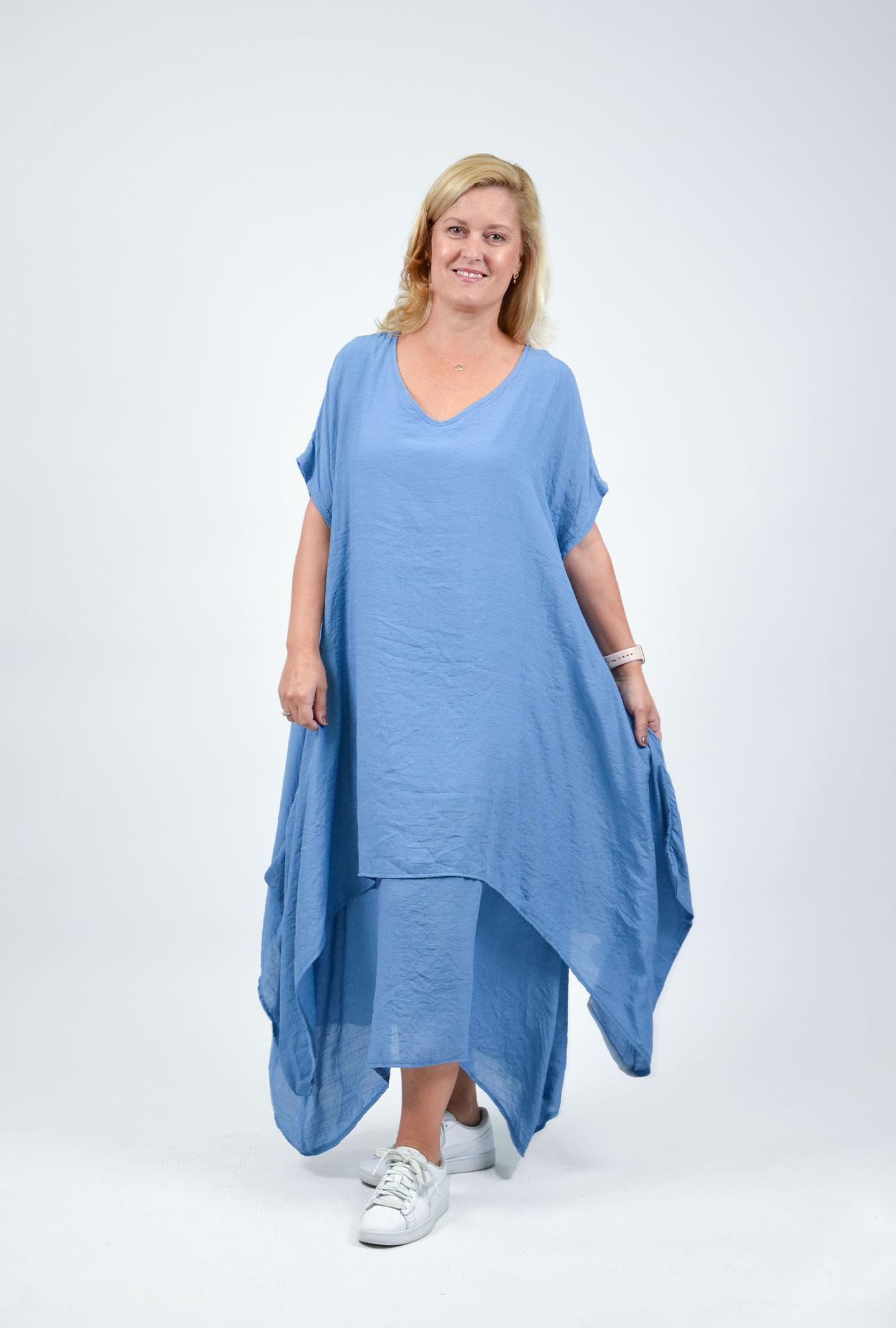 Cresley Dress in Blue