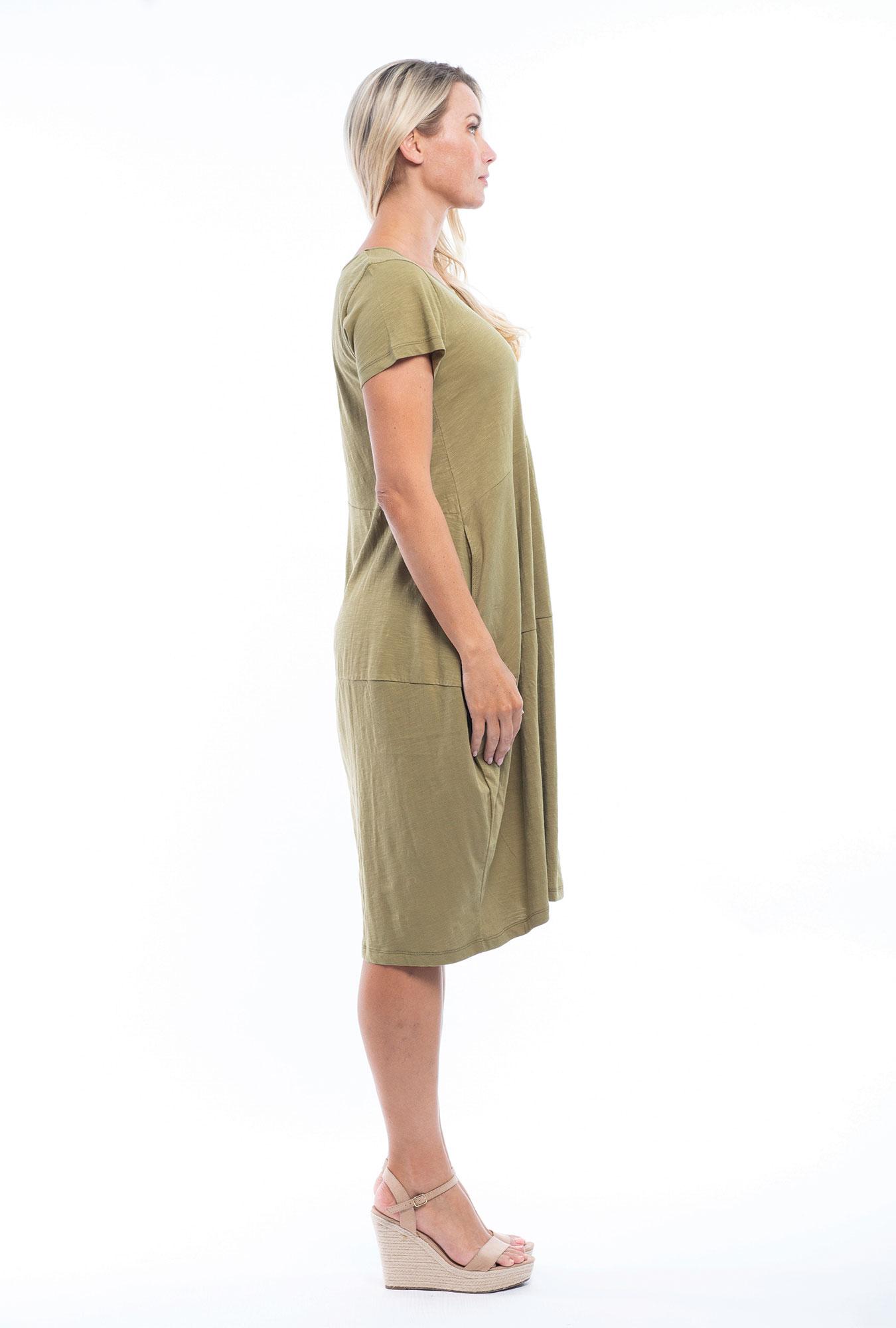 Josie Dress in Olive