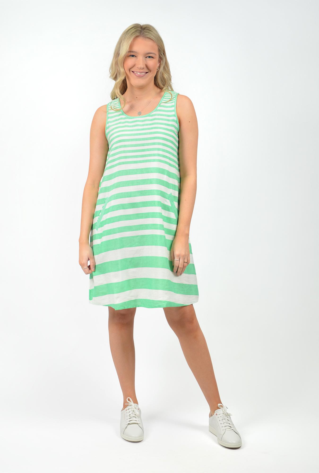 Sophia Dress in Mint