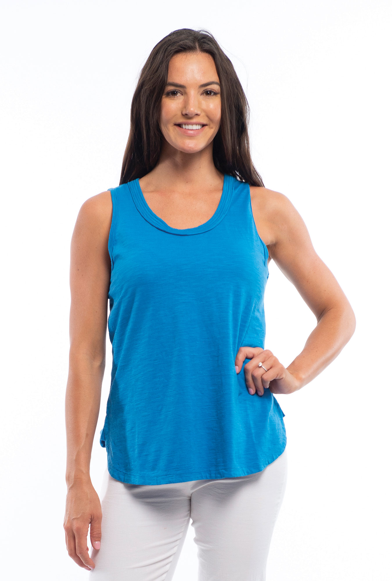 Leigh Cami In French Blue