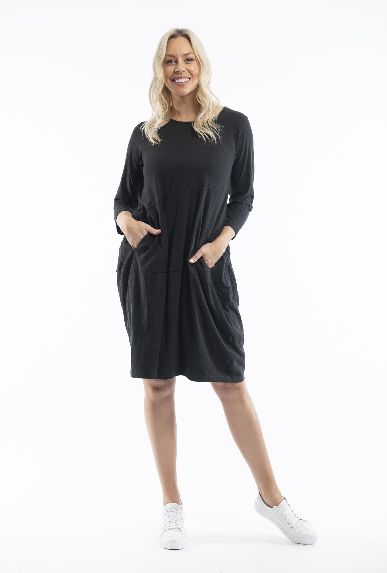 Black Bubble Dress