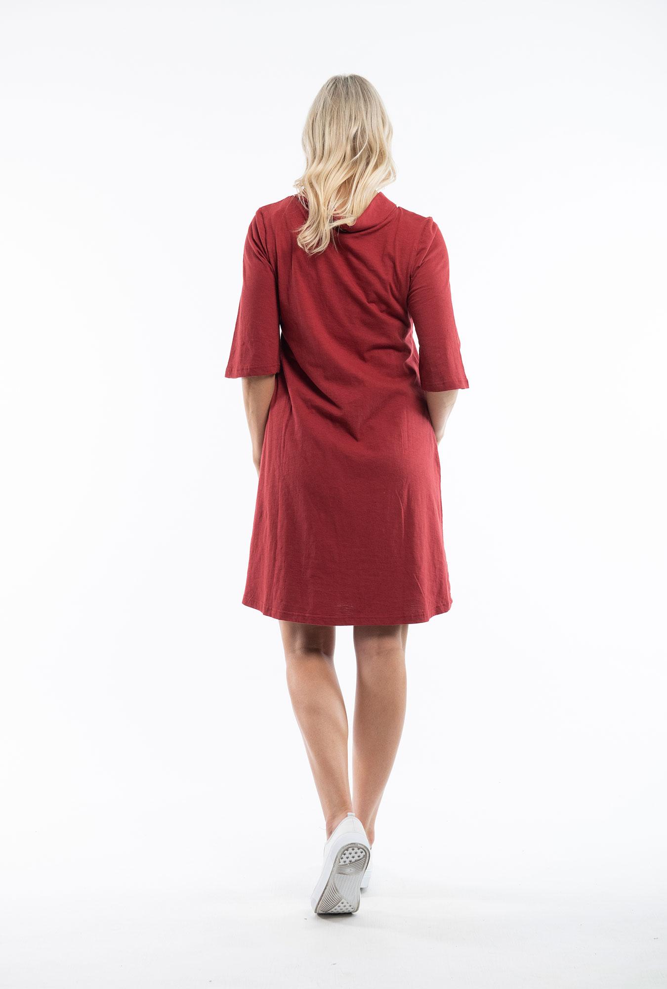 Rosewood Cowel Dress