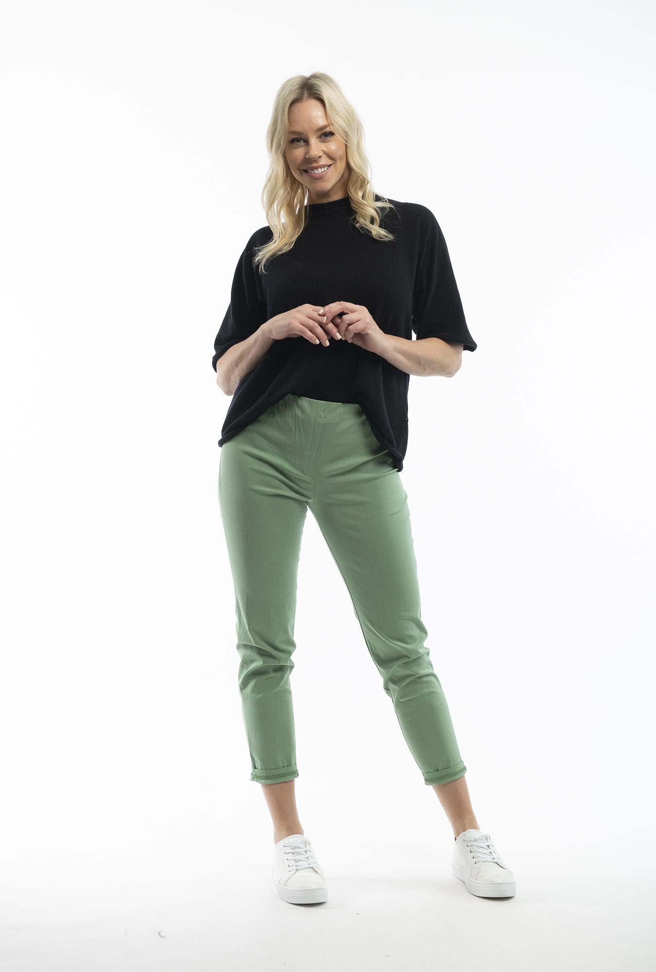 Olive Bangalene Pants