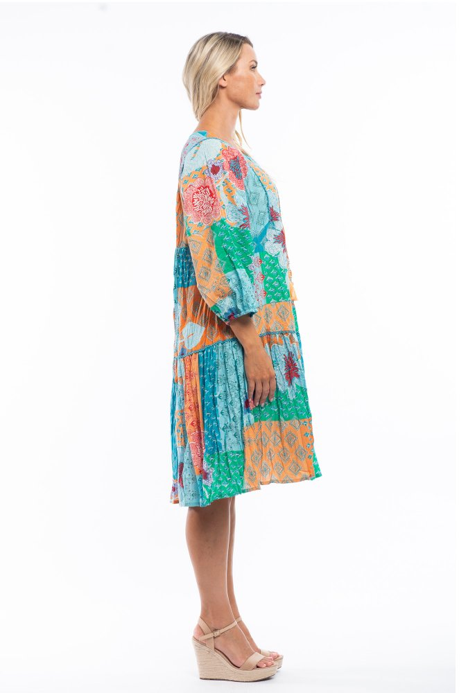Amalina Dress in Citadel