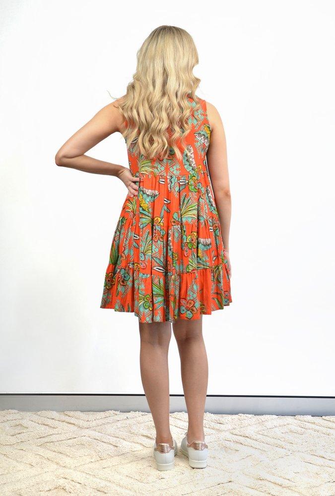 Natasha Dress in Pampelone