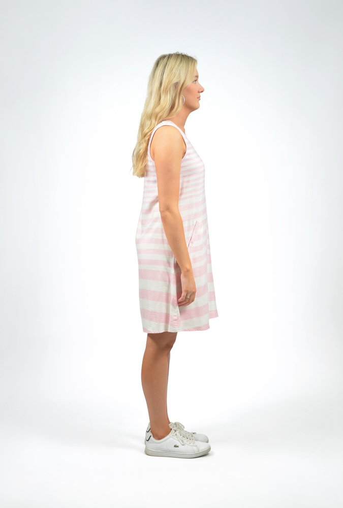 Sophia Dress in Pale Pink