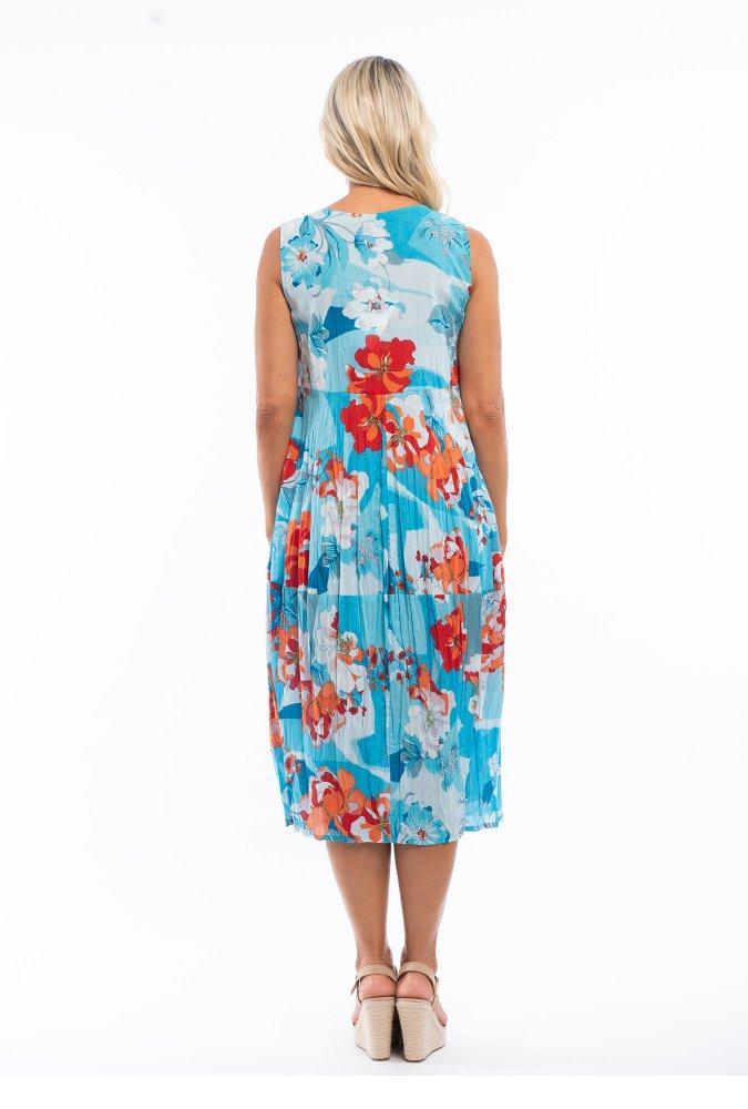 Tanee Midi Dress  in La Ciotat