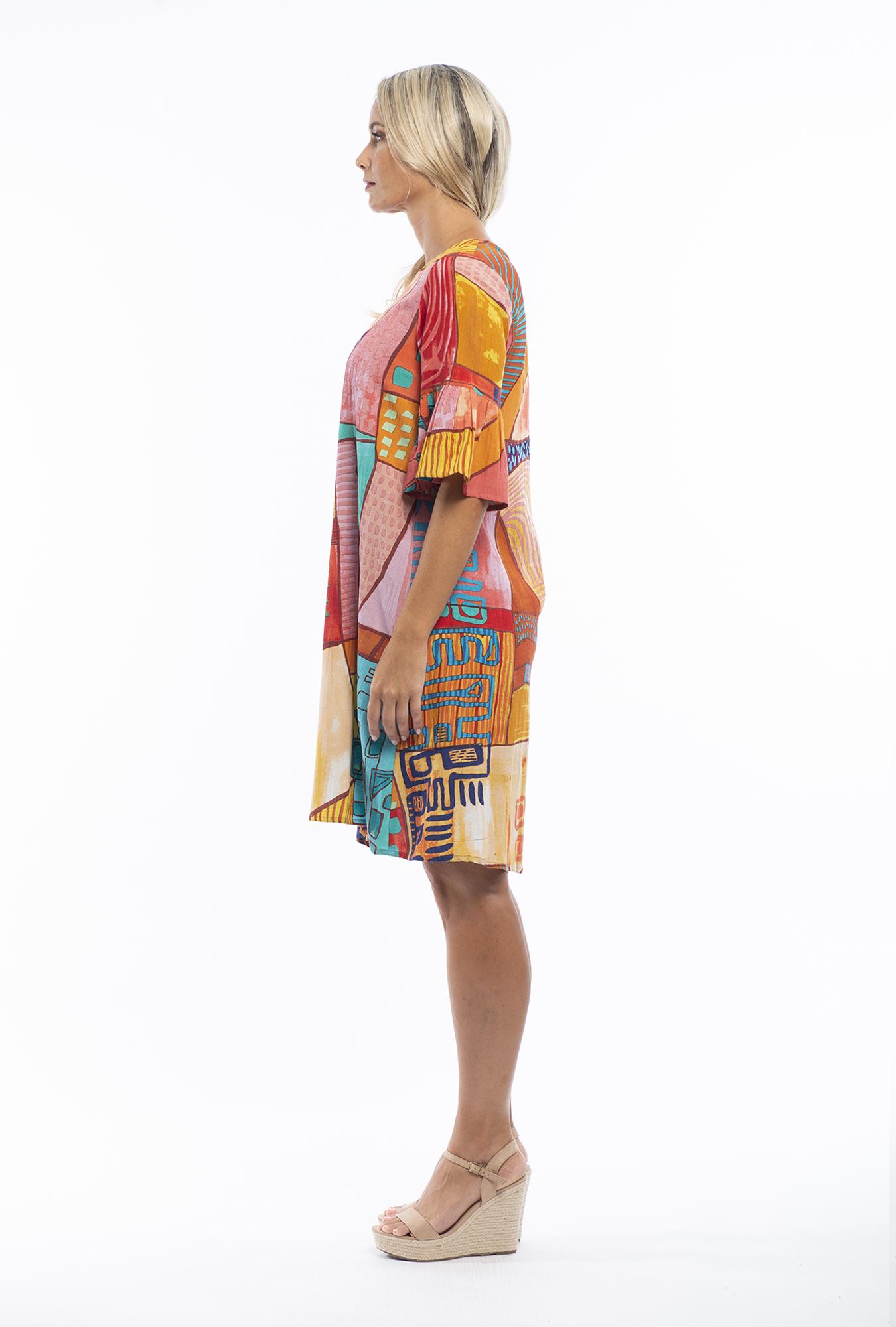 Valentina Dress in Corsica