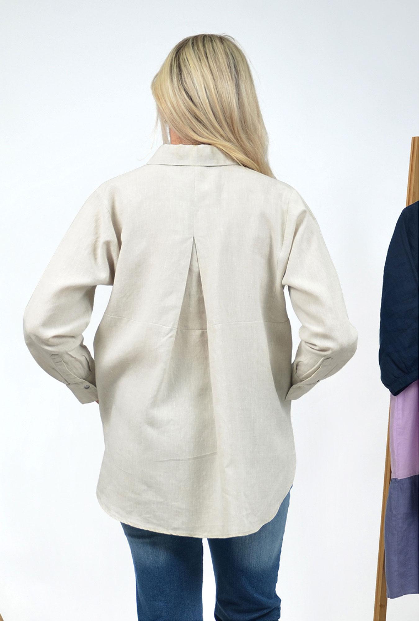 Charlie Linen Shirt