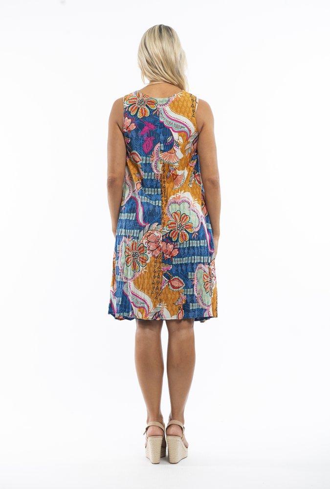 Amma Reversible Dress in Arles
