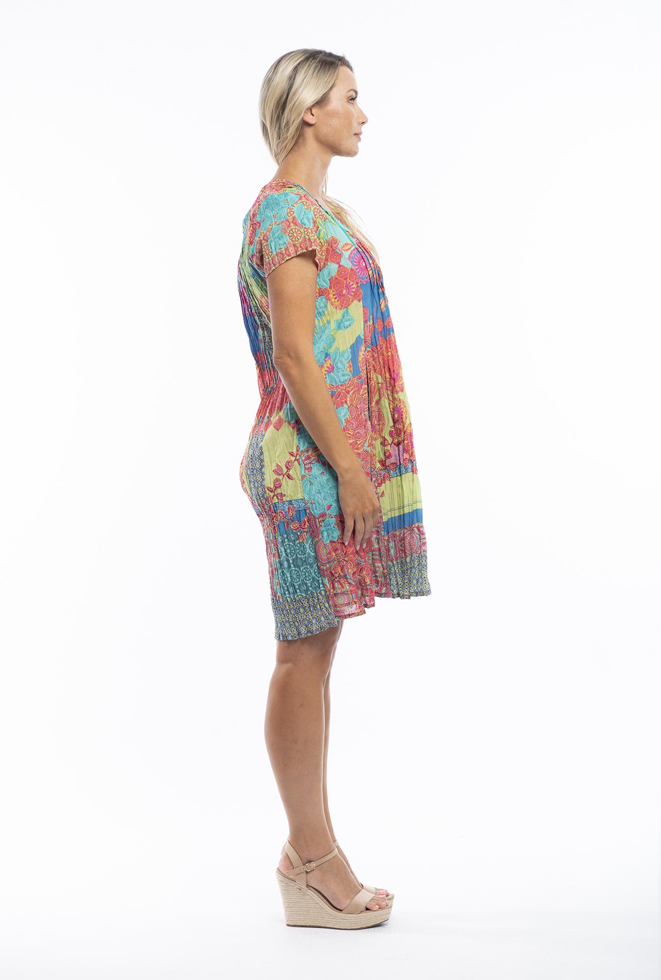 Anya Dress in Barbaroux