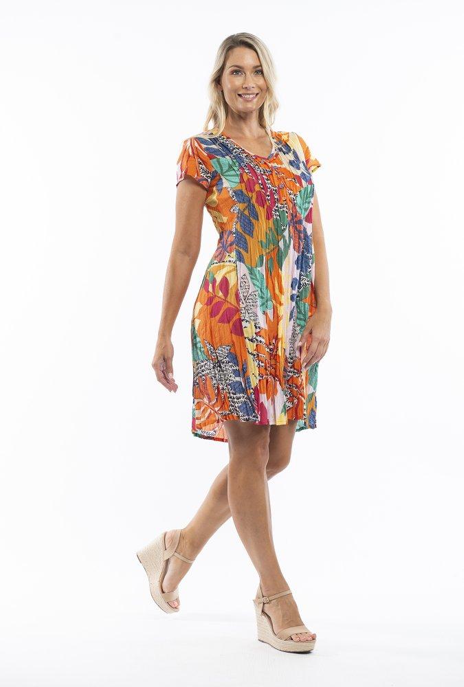 Anya Dress in Barbeyrolles