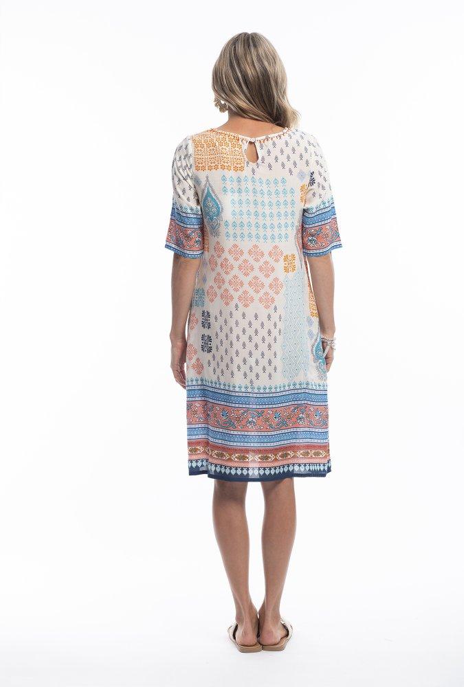Caitlin Dress in Kasbah