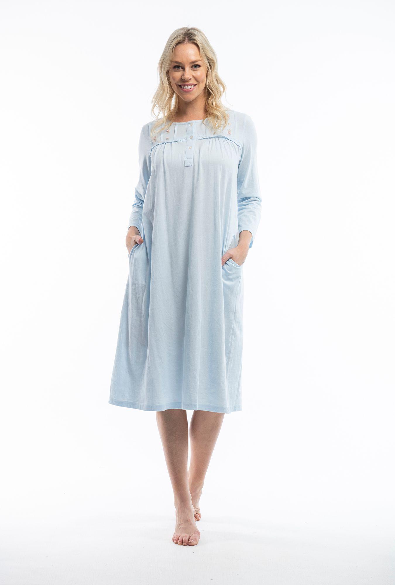 Victorian Blue Nightie