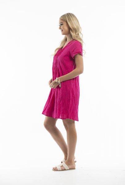 Tessa Dress in Pink