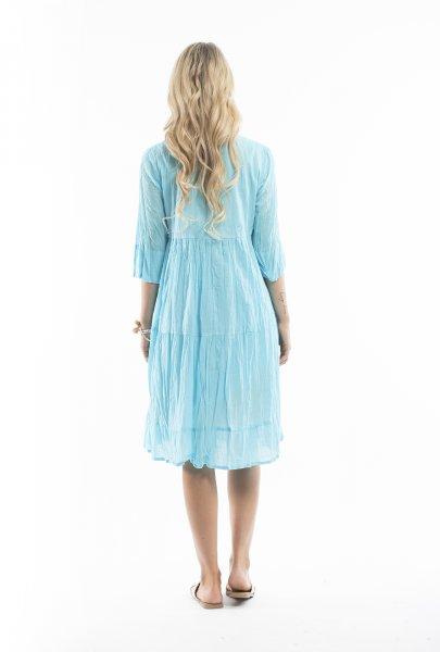 Wendy Dress in Aqua