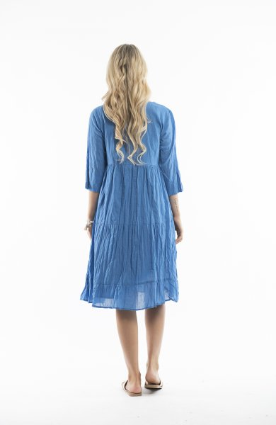 Wendy Dress in China Blue