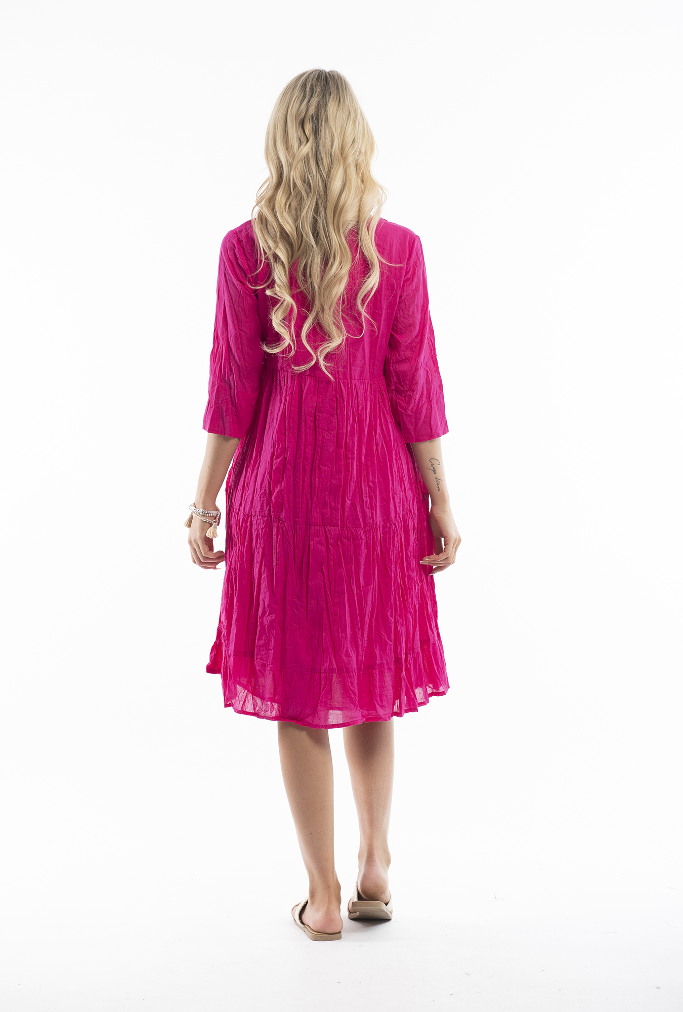 Wendy Dress in Pink