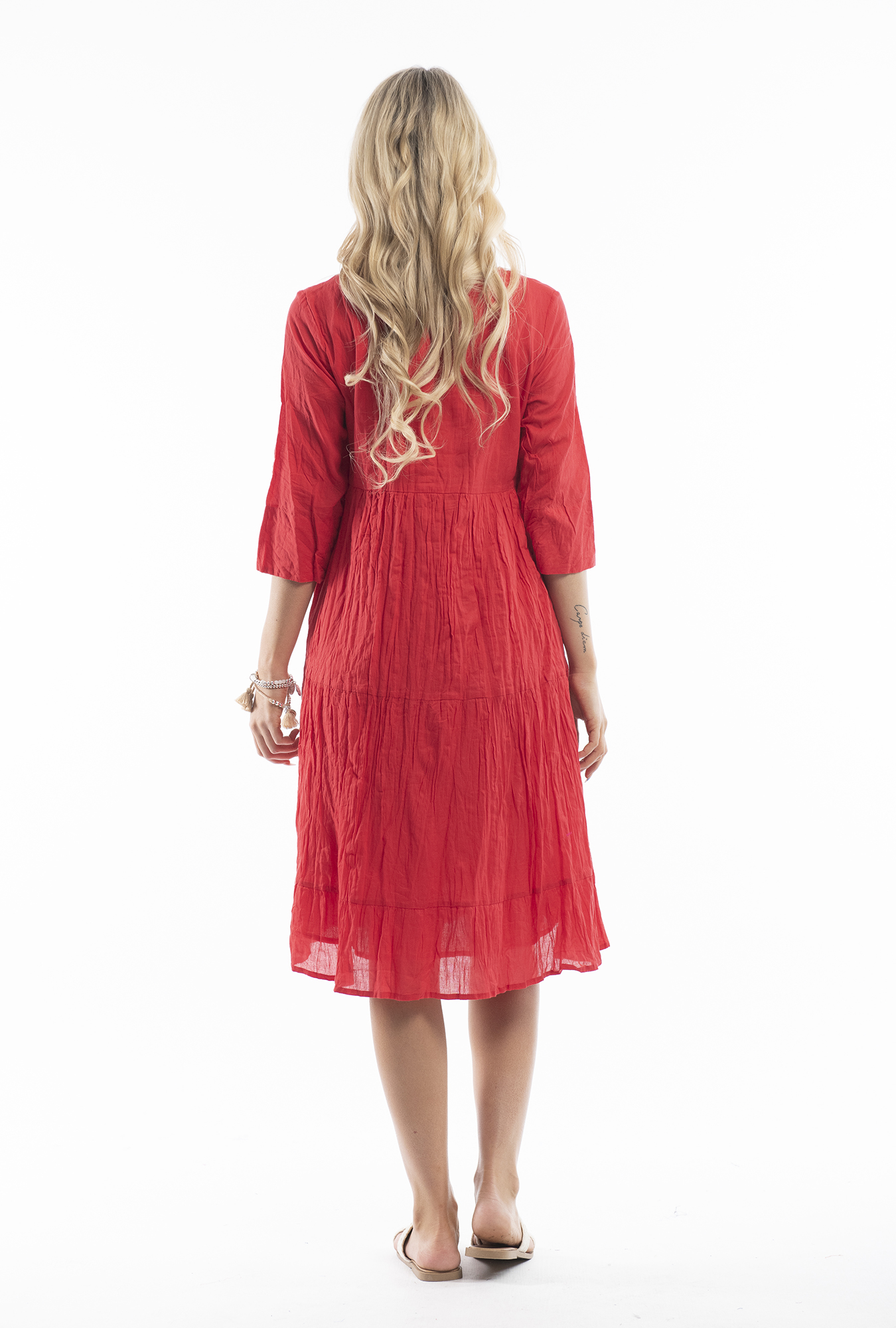 Wendy Dress in Red