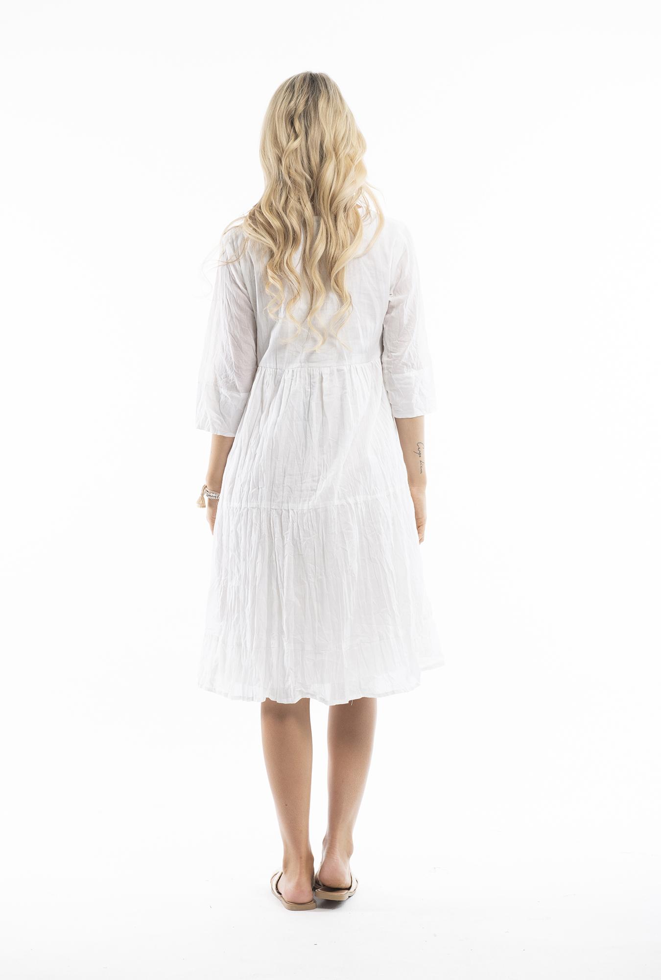 Wendy Dress in White