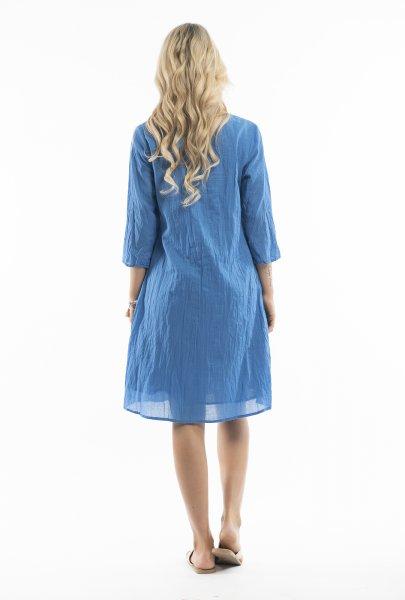 Leyla Dress in Blue