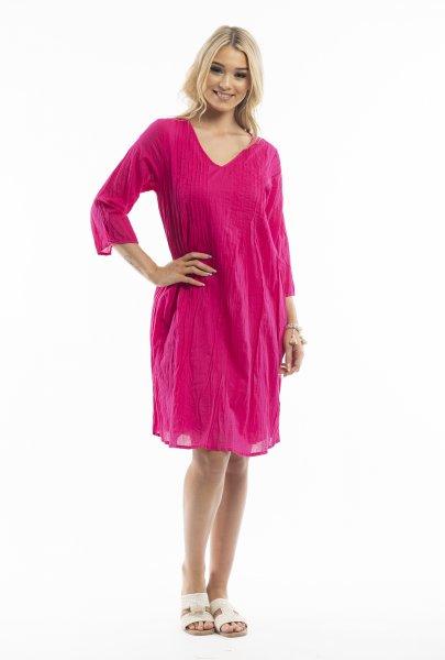 Leyla Dress in Pink