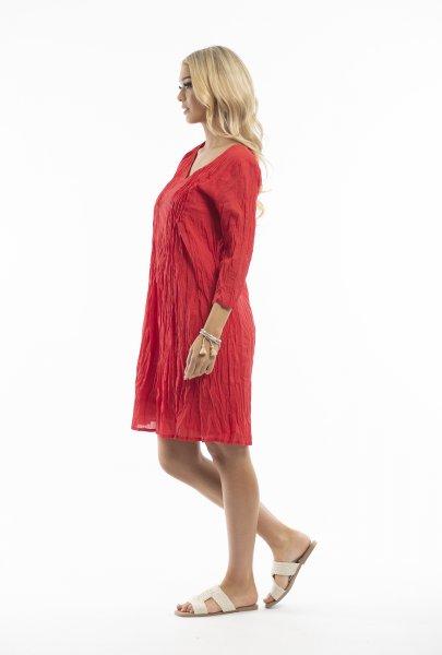 Leyla Dress in Red