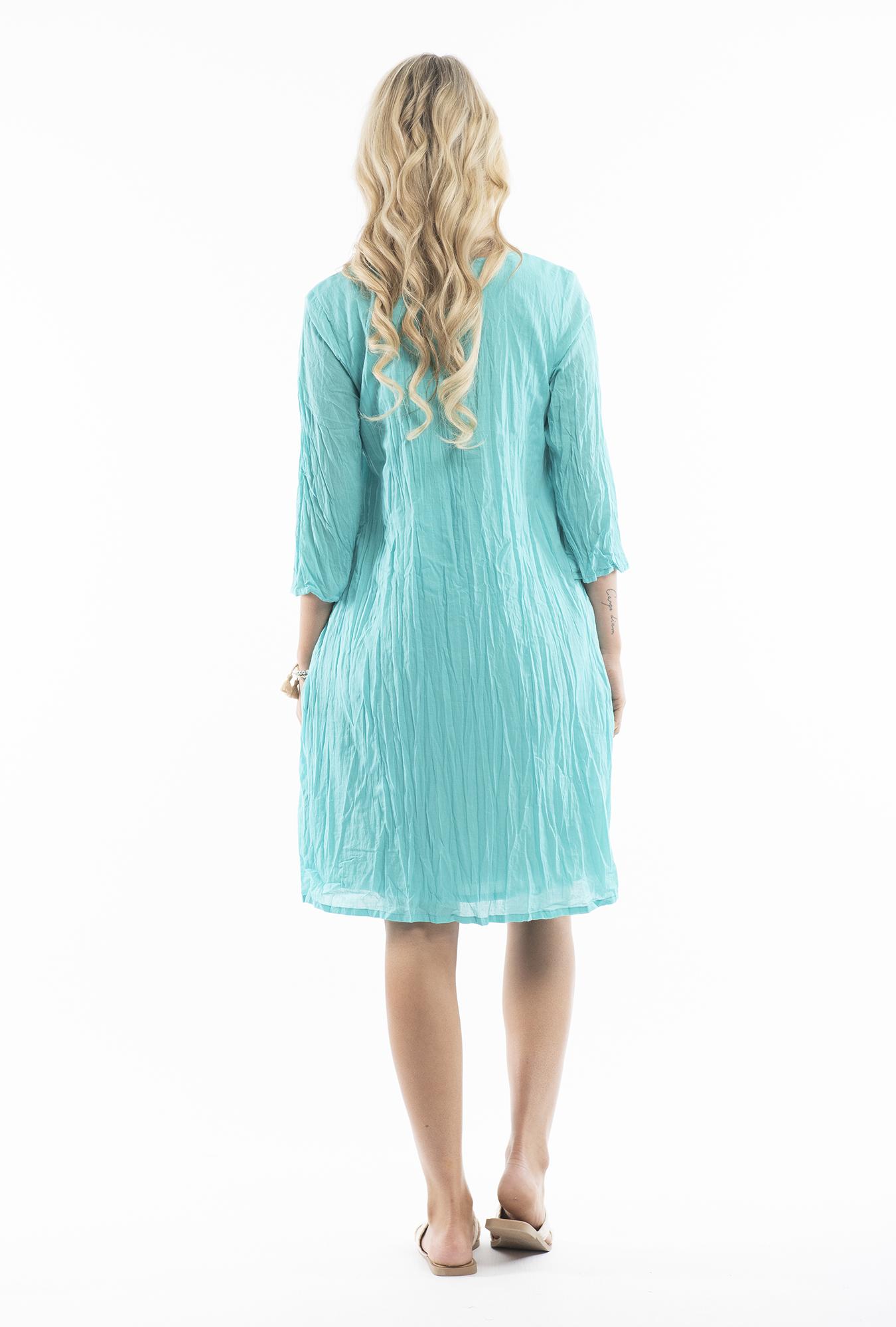 Leyla Dress in Teal