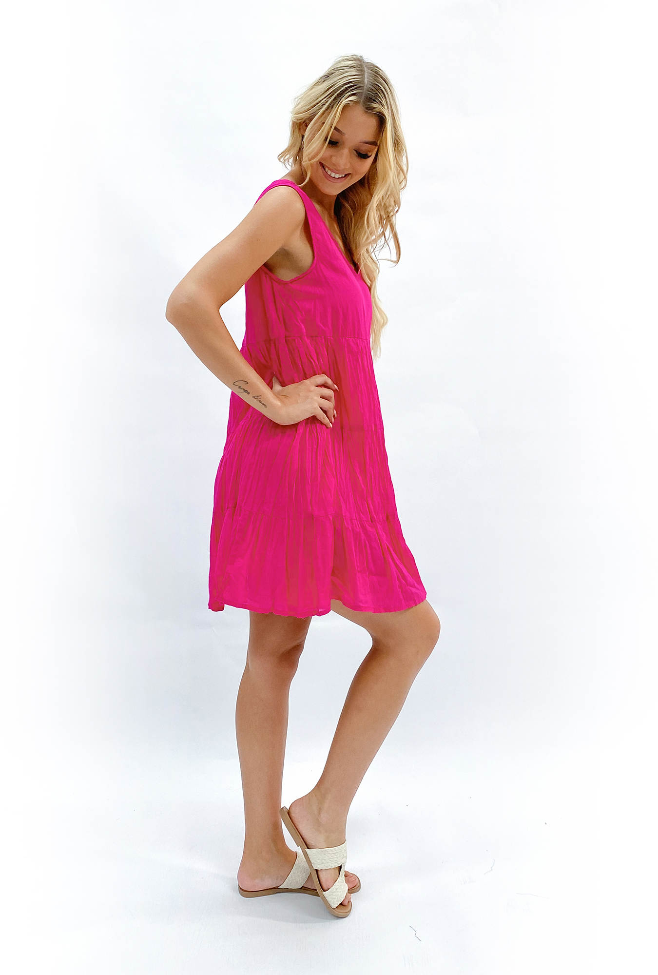 Bailey Dress in Pink