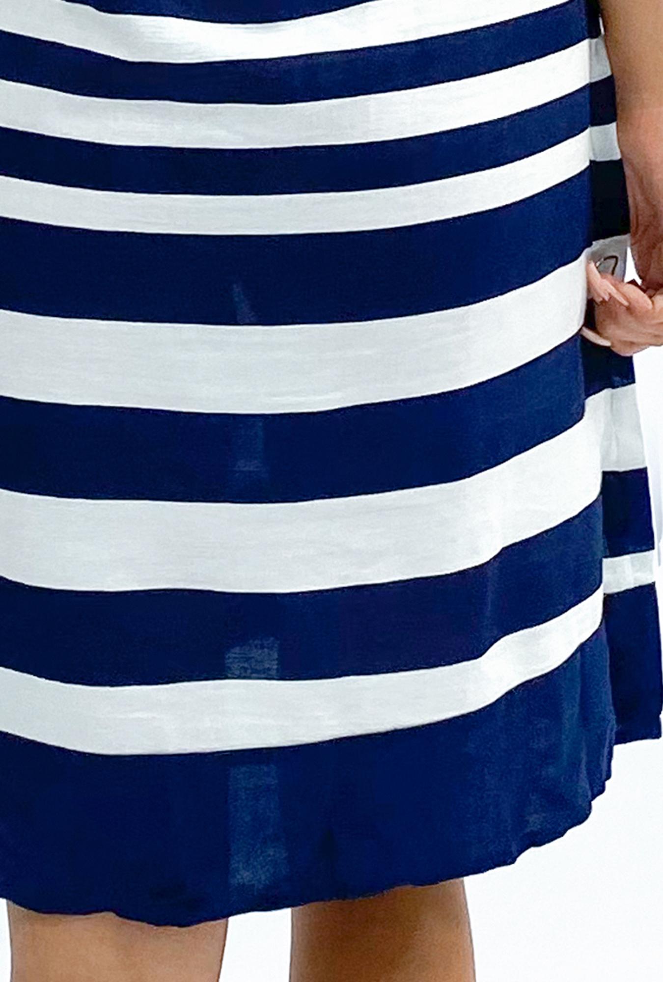Jane Swing Dress in Navy