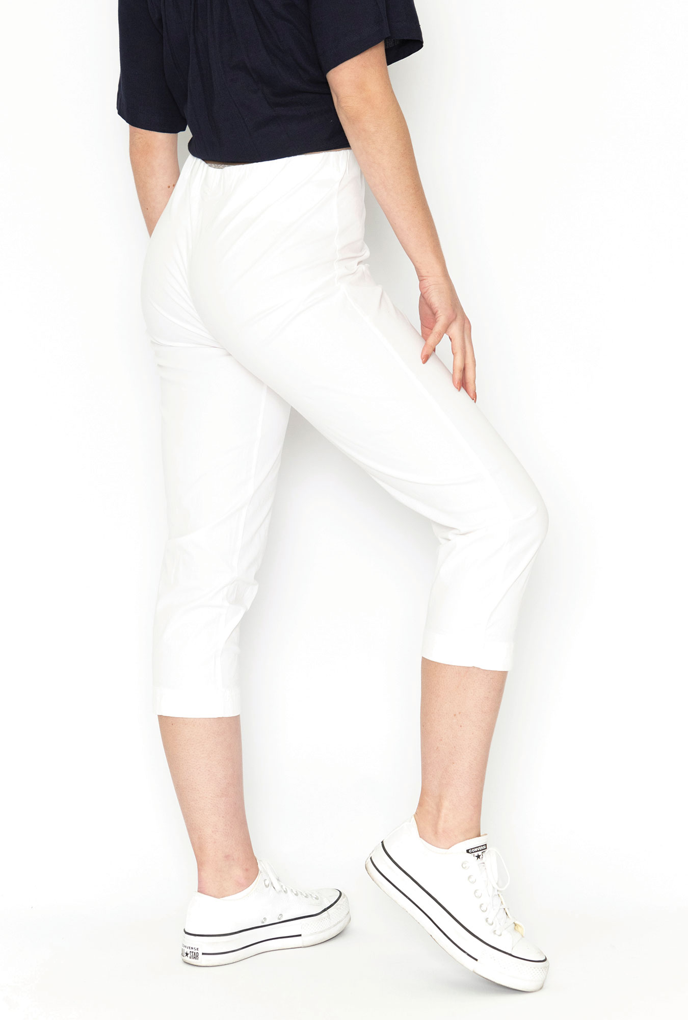 Angela Pant in White