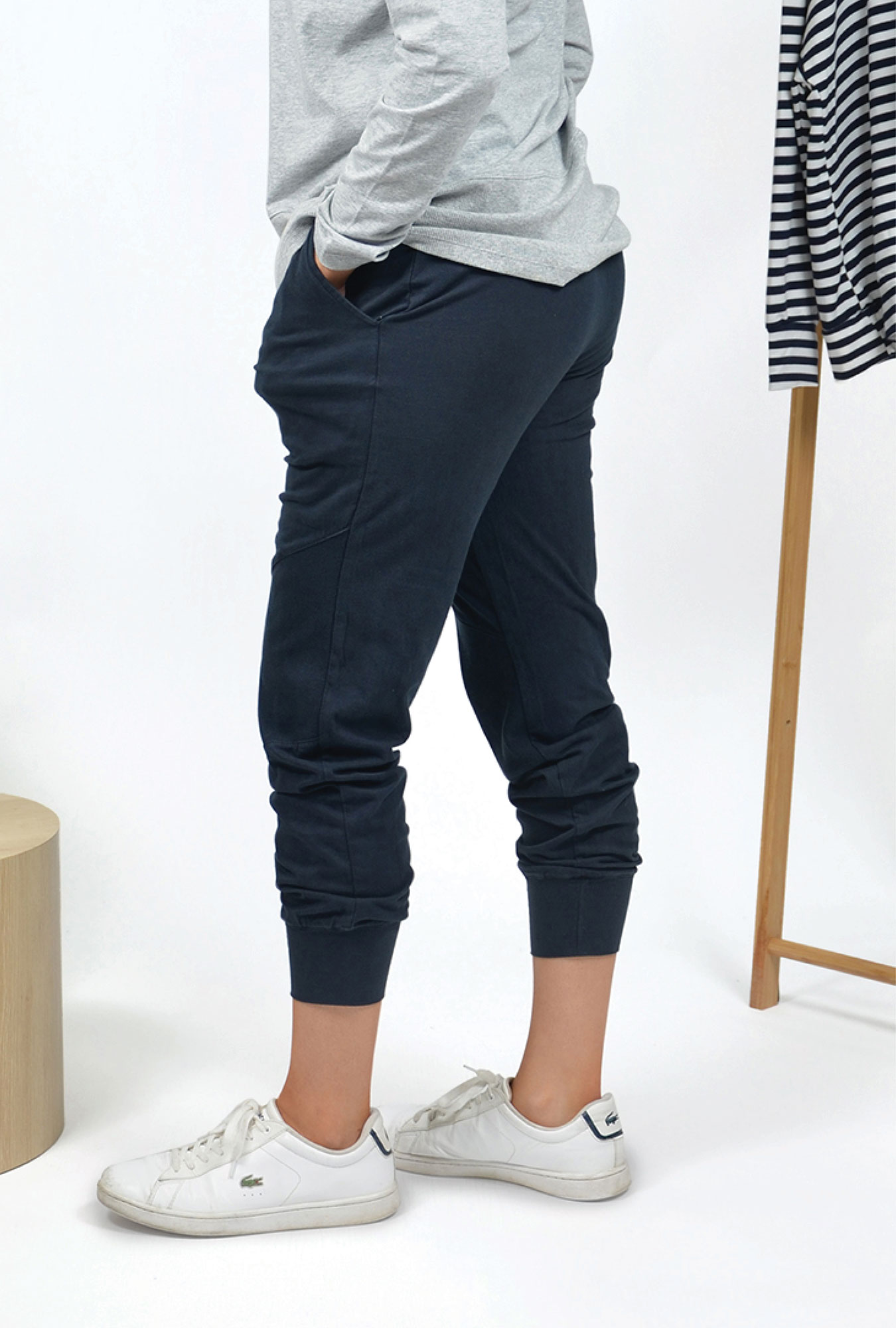 Shani Pant in Navy