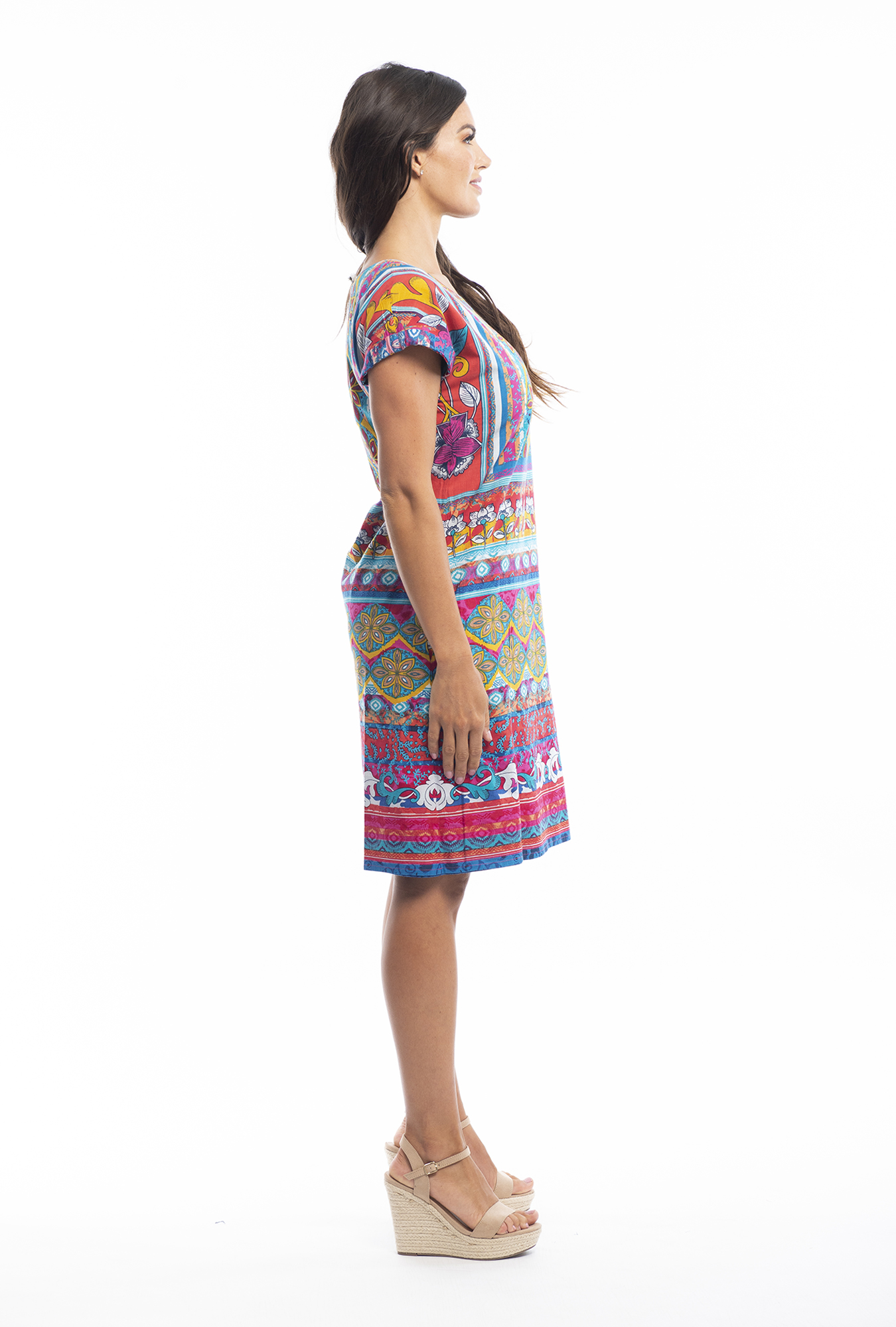 Eve Reversible in St Tropez Blue and Orange