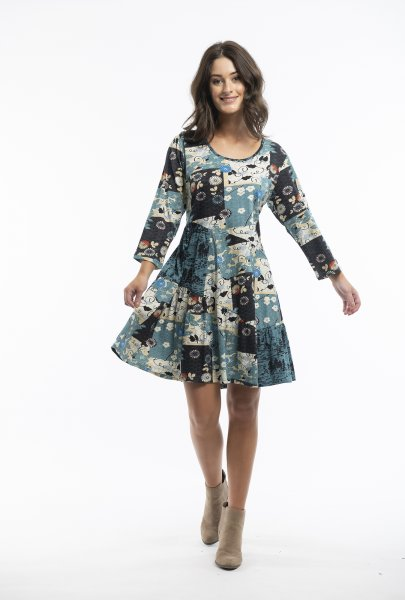 Hamrun Tunic Patch Dress