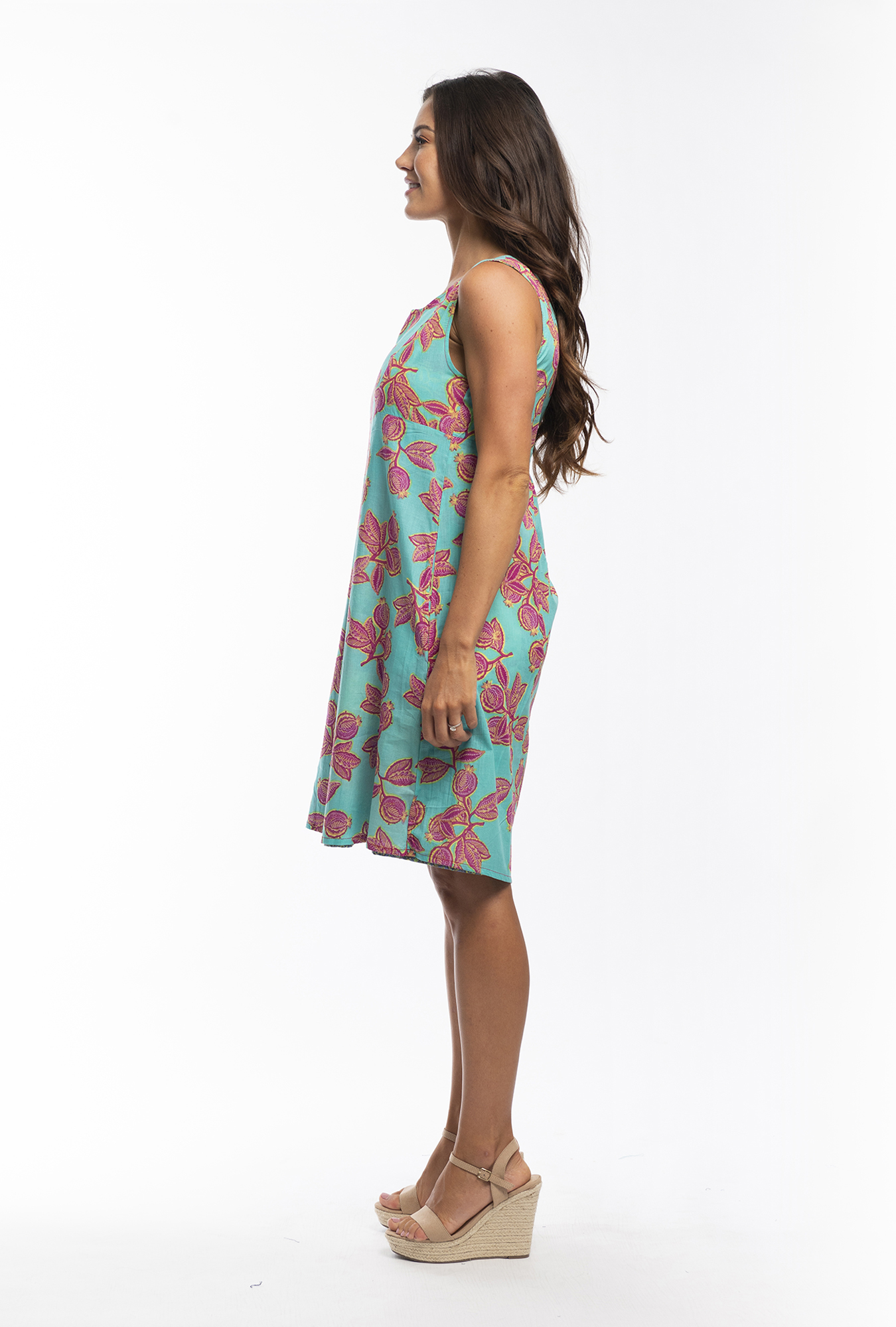 Izzi Reversible Dress in Barbaroux