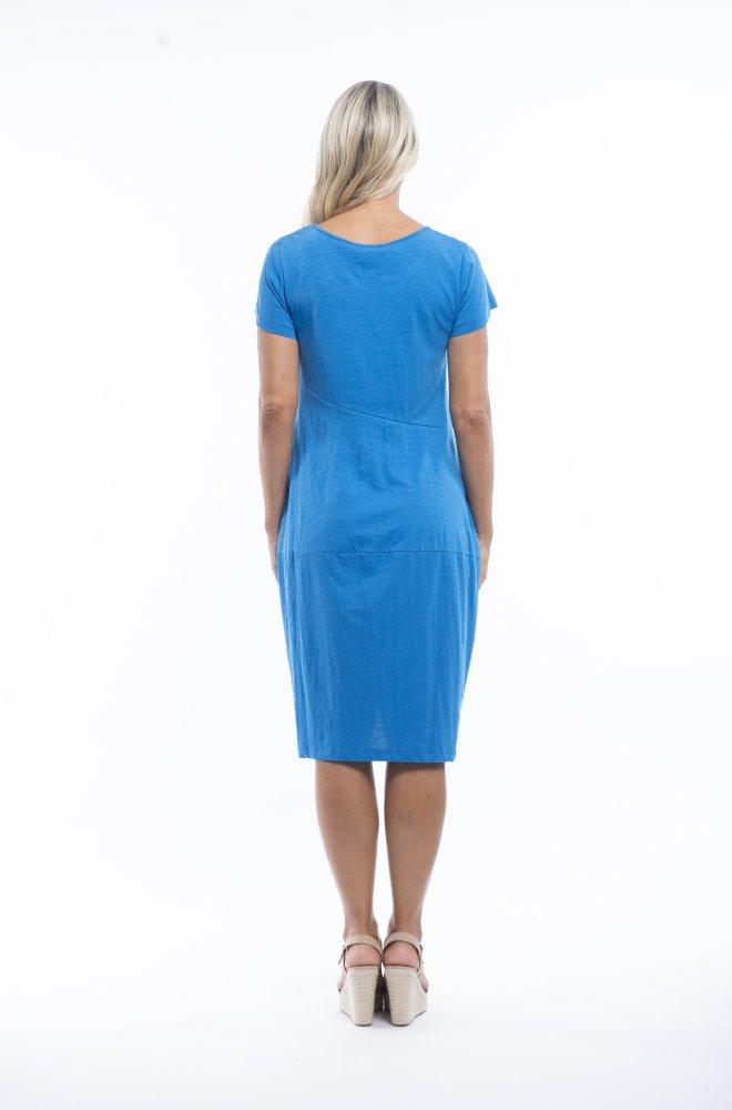 Josie Dress in French Blue
