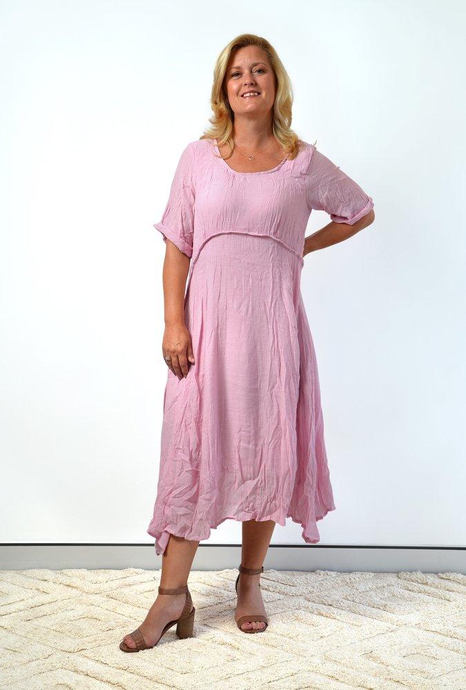 Una dress in Musk