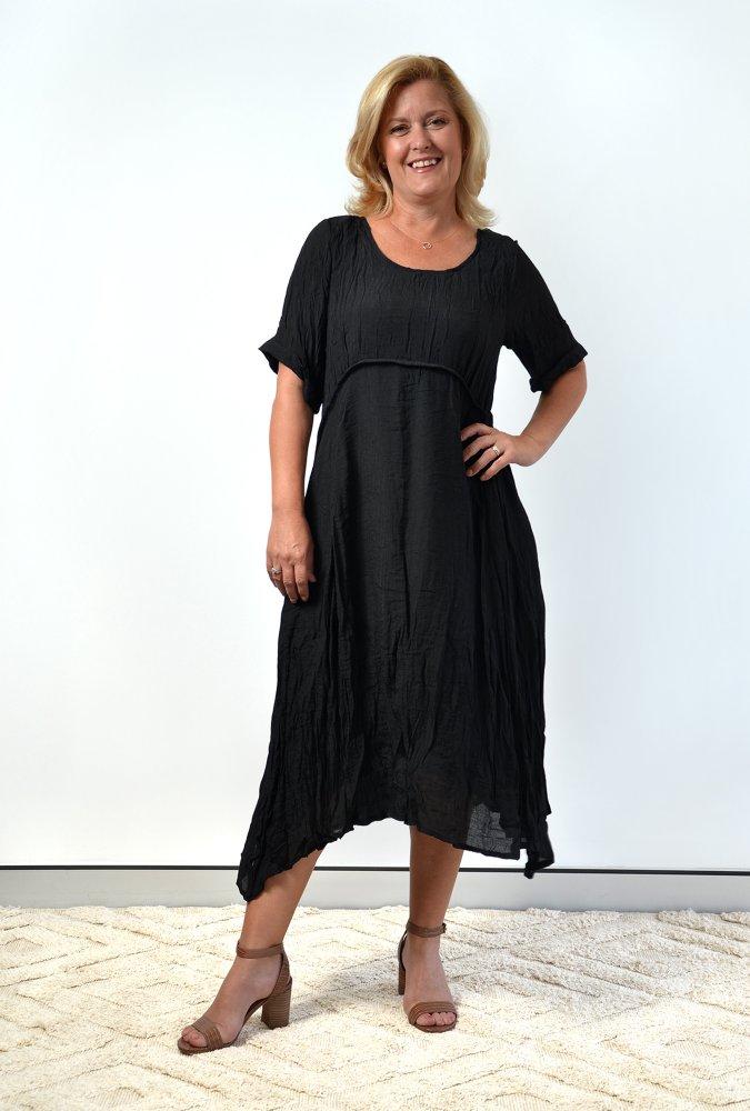 Una dress in Black