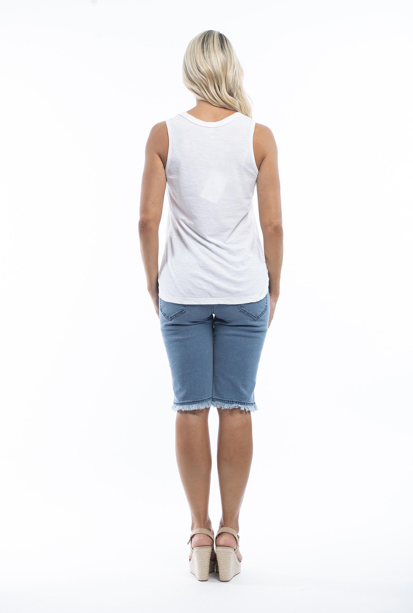 Kory Denim Shorts in Light Denim
