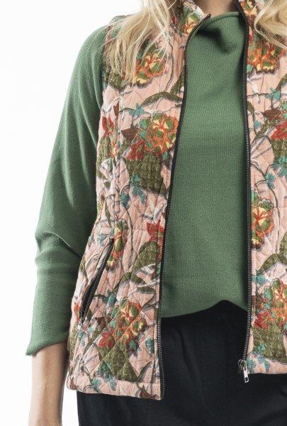 Lourdes Pink Reversible Vest