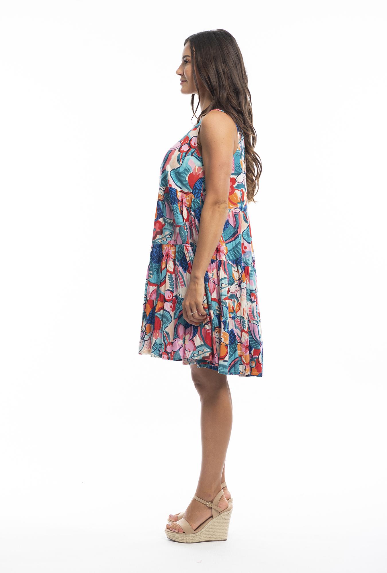 Natasha Dress in Borellie