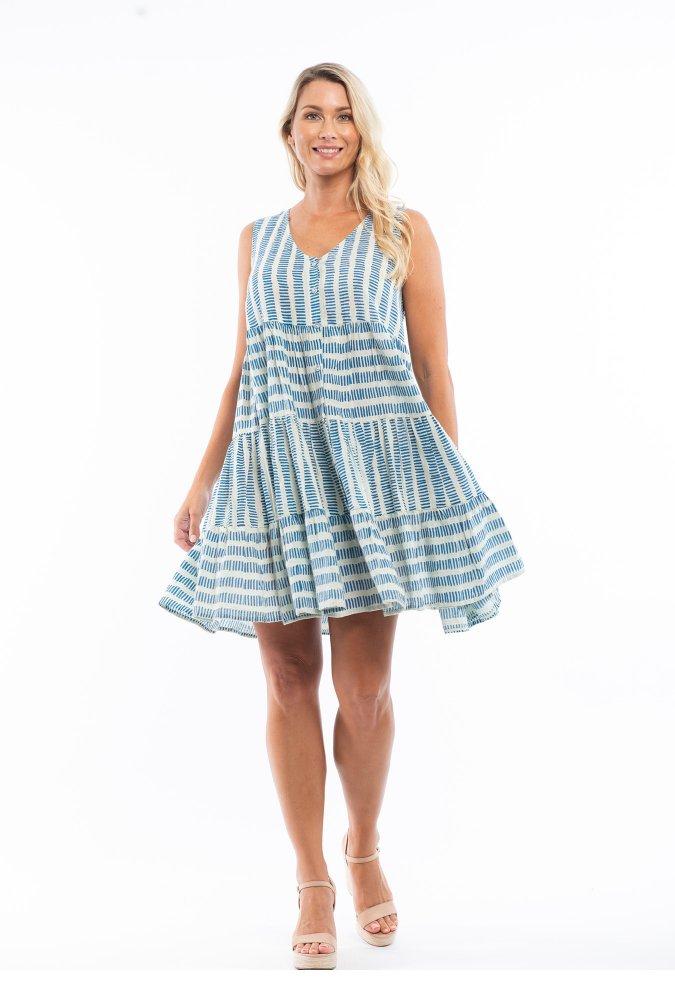 Natasha Dress in Vieux Port