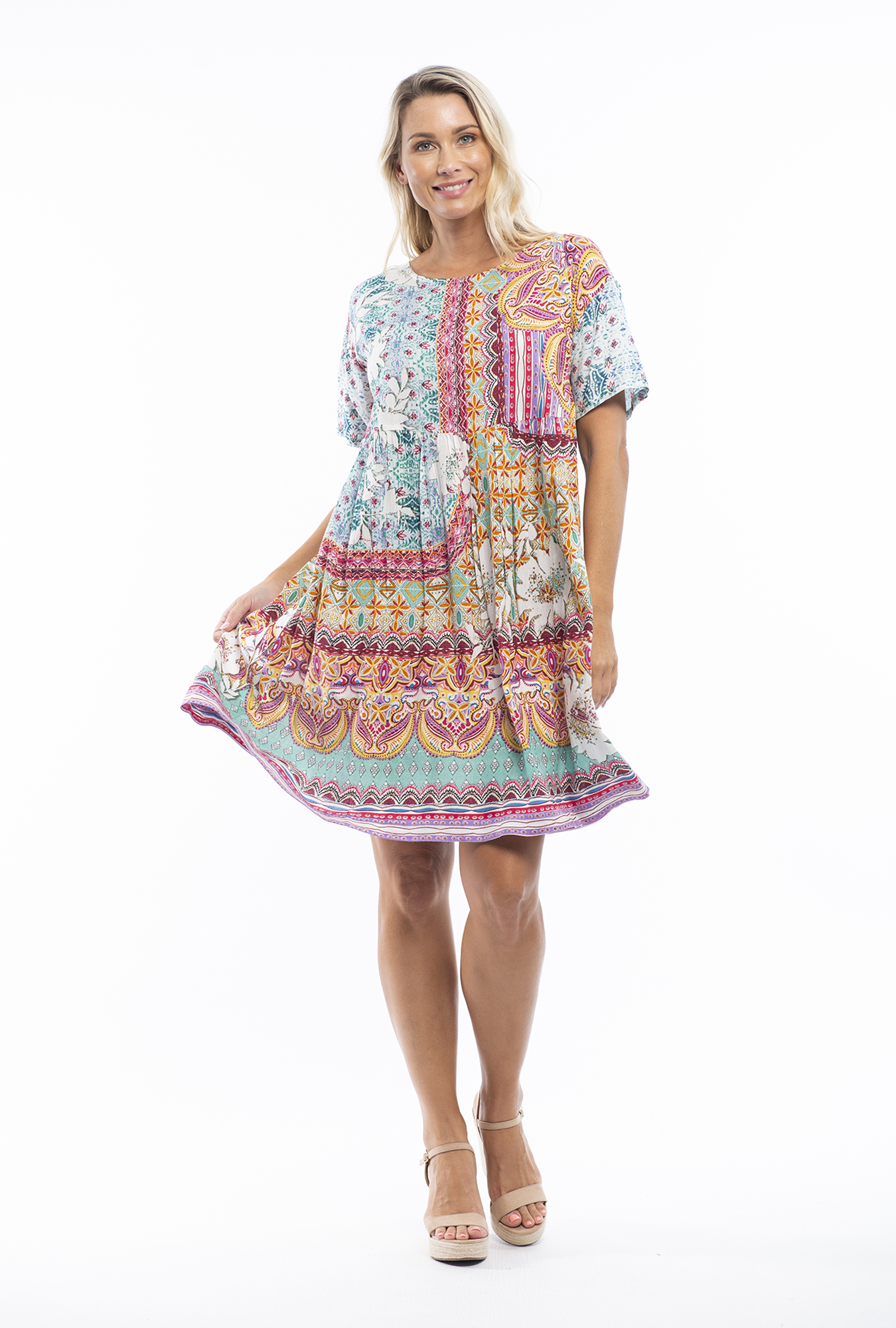 Posie Dress in Chateau Usse