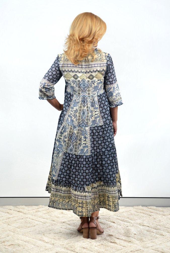 Salma Dress in Ramatuelle