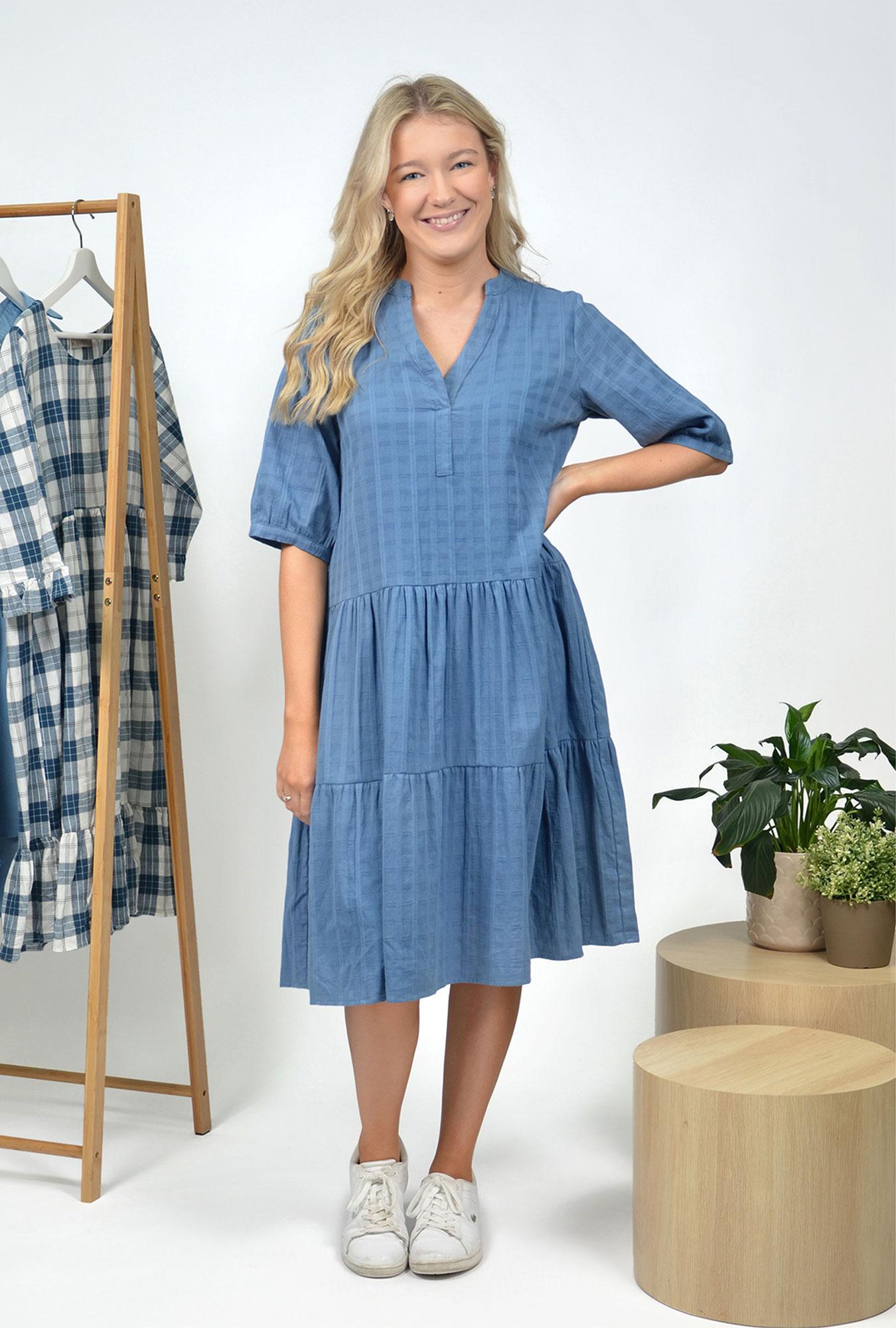 Monty Chambray Dress