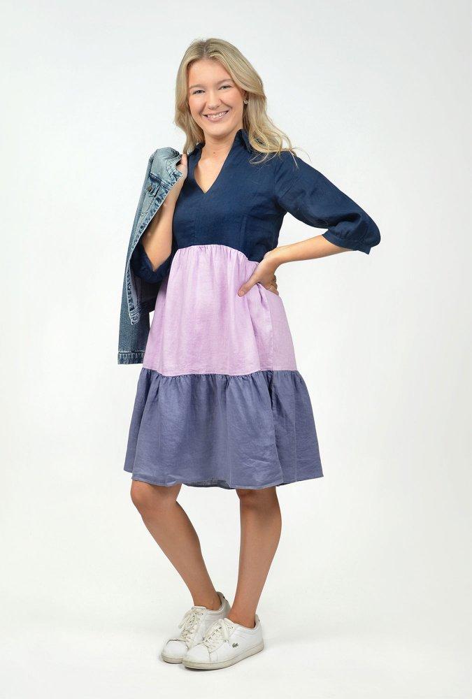 Heidi Linen Dress
